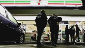 Detienen a indocumentados en tiendas de conveniencia de EU