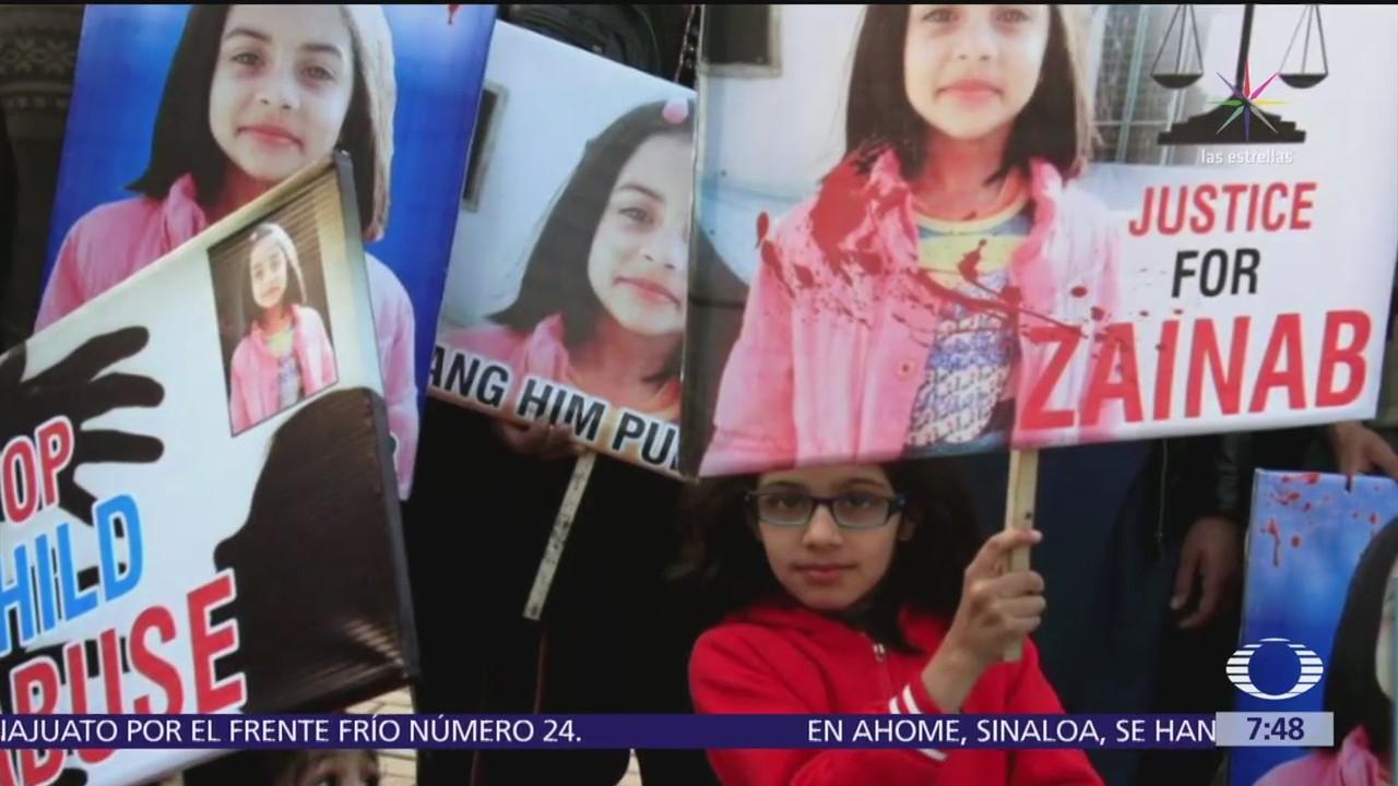 Detienen en Pakistán al asesino de Zainab, una niña de 7 años ...