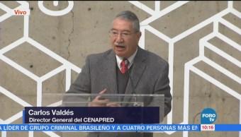Director de Cenapred habla del peligro volcánico y la caída de ceniza