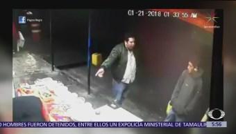 Disparan a trabajador de local de comida en Puebla