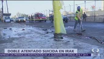 Doble atentado suicida en el centro de Bagdad