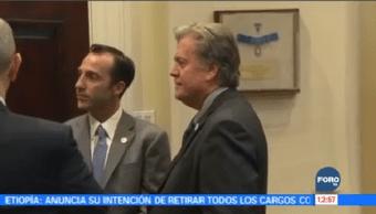 Donald Trump Afirma Exasesor Steve Bannon Perdió Razón