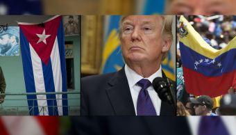 Trump endurece su política con Venezuela y se aleja de Cuba