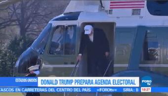 Donald Trump Prepara Agenda Electoral