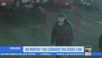 Dos muertos y dos lesionados tras ataque a bar en Veracruz