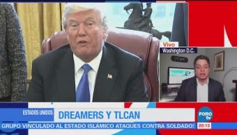 Dreamers y TLCAN la agenda en EU