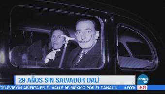 Efeméride Hora Salvador Dalí Efeméride En Una Hora
