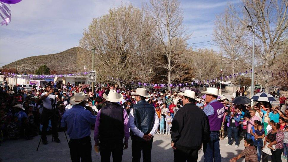 'El Bronco' en San José de Raíces en Galeana