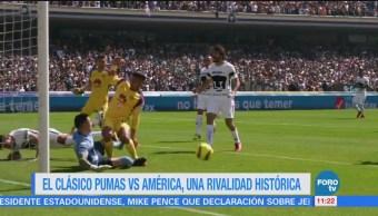 El clásico Pumas vs América, una rivalidad histórica
