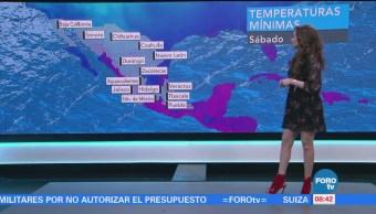 El clima con... Mayte Carranco