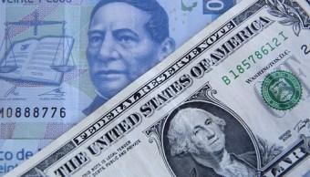 El dólar abre en 19.04 pesos a la venta