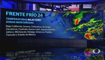 El frío no da tregua en México