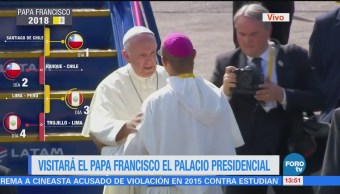 Papa Francisco Dirige Lima Capital Perú