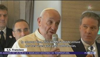 El papa Francisco se reúne con Michelle Bachelet
