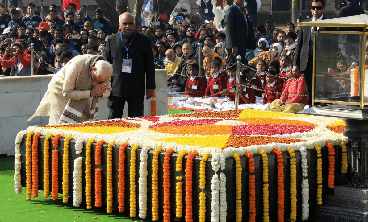 Plegarias para recordar a Gandhi a 70 anos de su muerte