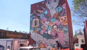 Embellecen mercados públicos de Oaxaca con murales