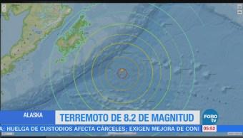 Emiten alerta de tsunami, tras sismo en Alaska