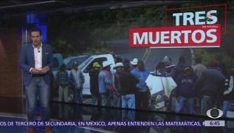 Enfrentamiento entre indígenas de Oxchuc, Chiapas, deja tres muertos