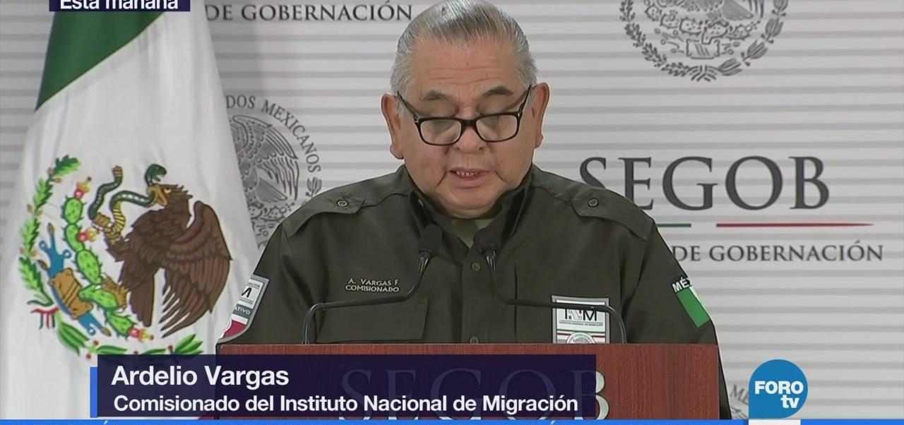 Entregan Delincuente Panamá Ardelio Vargas Instituto Nacional De Migración