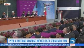EPN Anuncia Inversión Aeronáutica Generará 25 Mil Empleos
