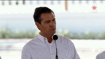 Epn Desea Grandeza México Actividades Pública