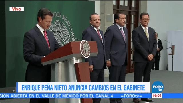 EPN designa a Navarrete Prida como nuevo secretario de Gobernación