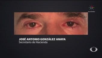 EPN y parte de su Gabinete sufren afectaciones en los ojos