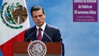Peña Nieto pide que enojo no lleve a perder de vista avances