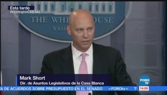 Estamos listos para firmar presupuesto: Mark Short