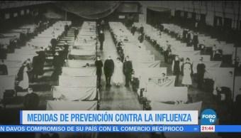 Medidas Prevención Contra Influenza
