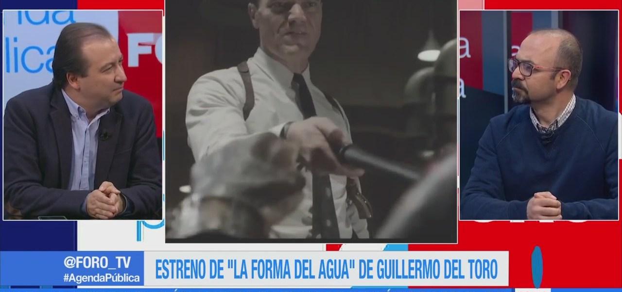 """Estreno de """"La forma del agua"""" de Guillermo del Toro"""