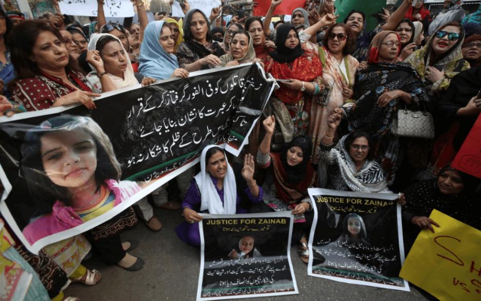 Exigen justicia en Pakistán tras secuestro, asesinato y violación de una niña