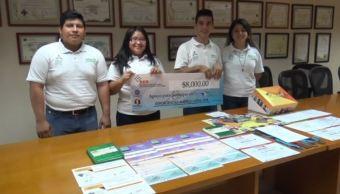 alumnos campeche expo ciencias america latina