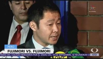 Expulsan a Kenji Fujimori del partido Fuerza Popular