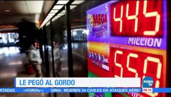 Extra, Extra: Gana 570 millones de dólares en la lotería