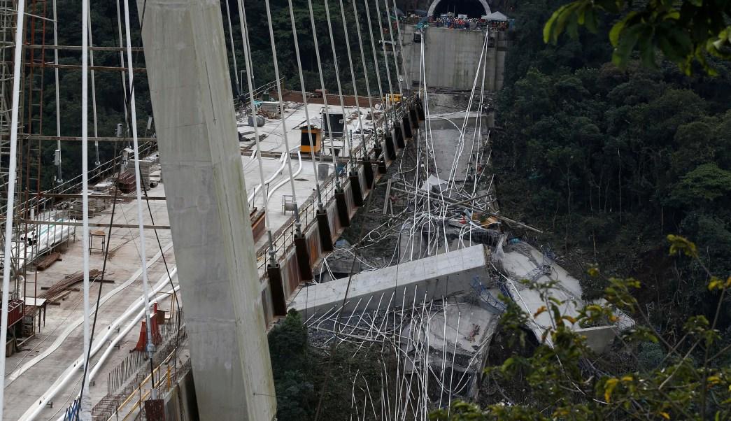 Fallo diseño causó derrumbe puente Colombia