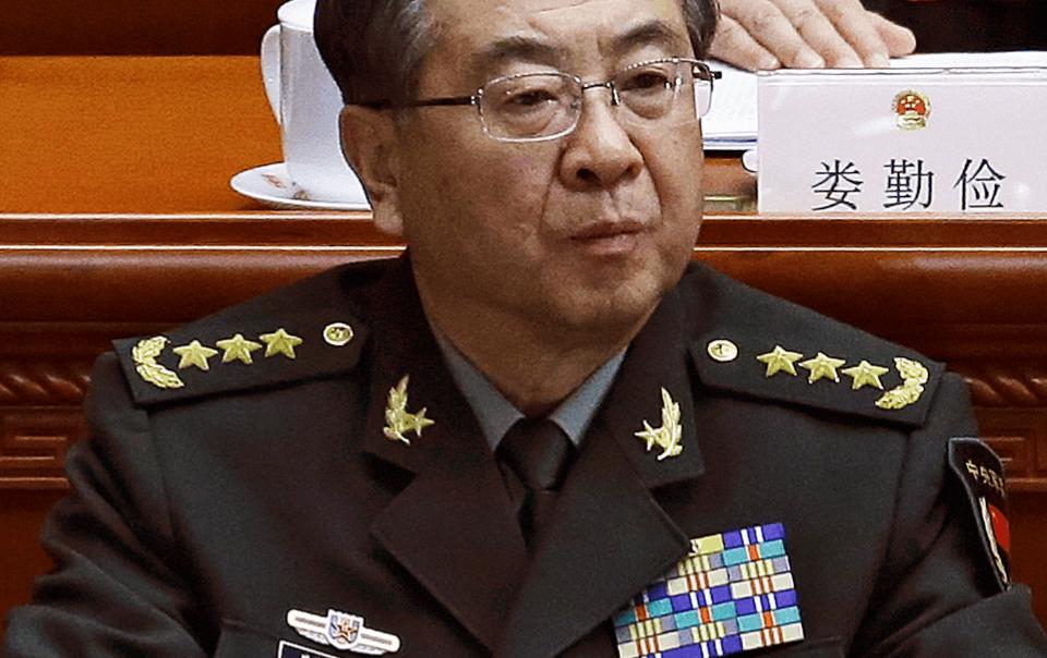 Fang Fenghui, exjefe del Estado Mayor de China
