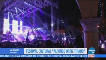 "Festival cultural ""Alfonso Ortiz Tirado"" en Álamos, Sonora"