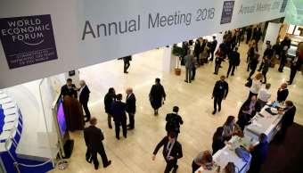 El Foro Económico Mundial arranca con optimismo sobre economía de México