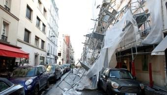 Tormenta de viento al norte de Francia