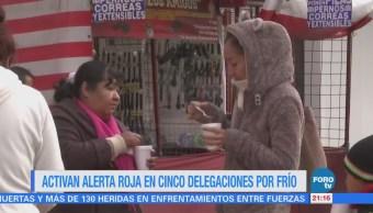 Frente Frío 25 Mantienen Temperaturas Bajo Cero México