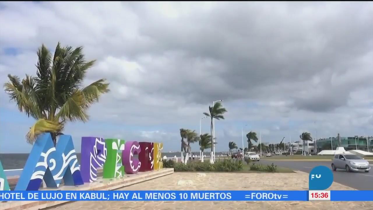Frío inusual en el norte del estado de Campeche