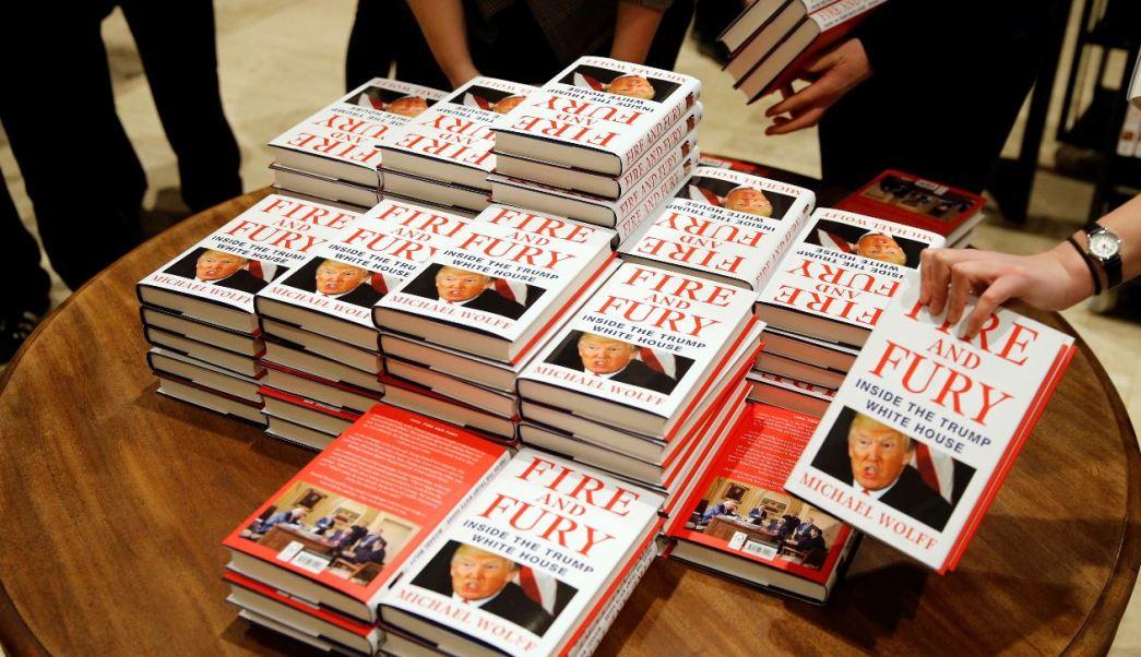 A partir de febrero, 'Fuego y Furia' estará disponible en librerías de México