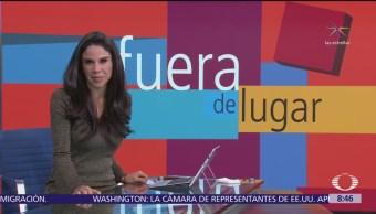 Fuera de Lugar: Una mujer rompe la pantalla de un boliche