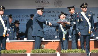 Veinticuatro generales de la Sedena pasan a situación de retiro