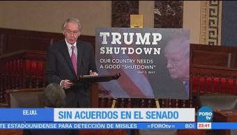 Gobierno de Donald Trump se queda sin recursos