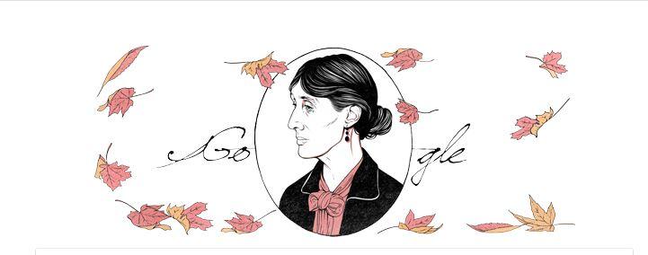 Google conmemora natalicio de la escritora Virginia Woolf