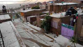 ixtapaluca valle chalco y la paz municipios mas afectados tormenta