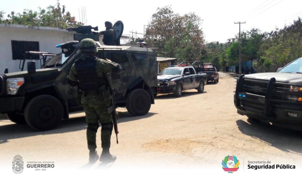 Consignan a 19 detenidos por enfrentamiento en Guerrero que dejó 11 muertos