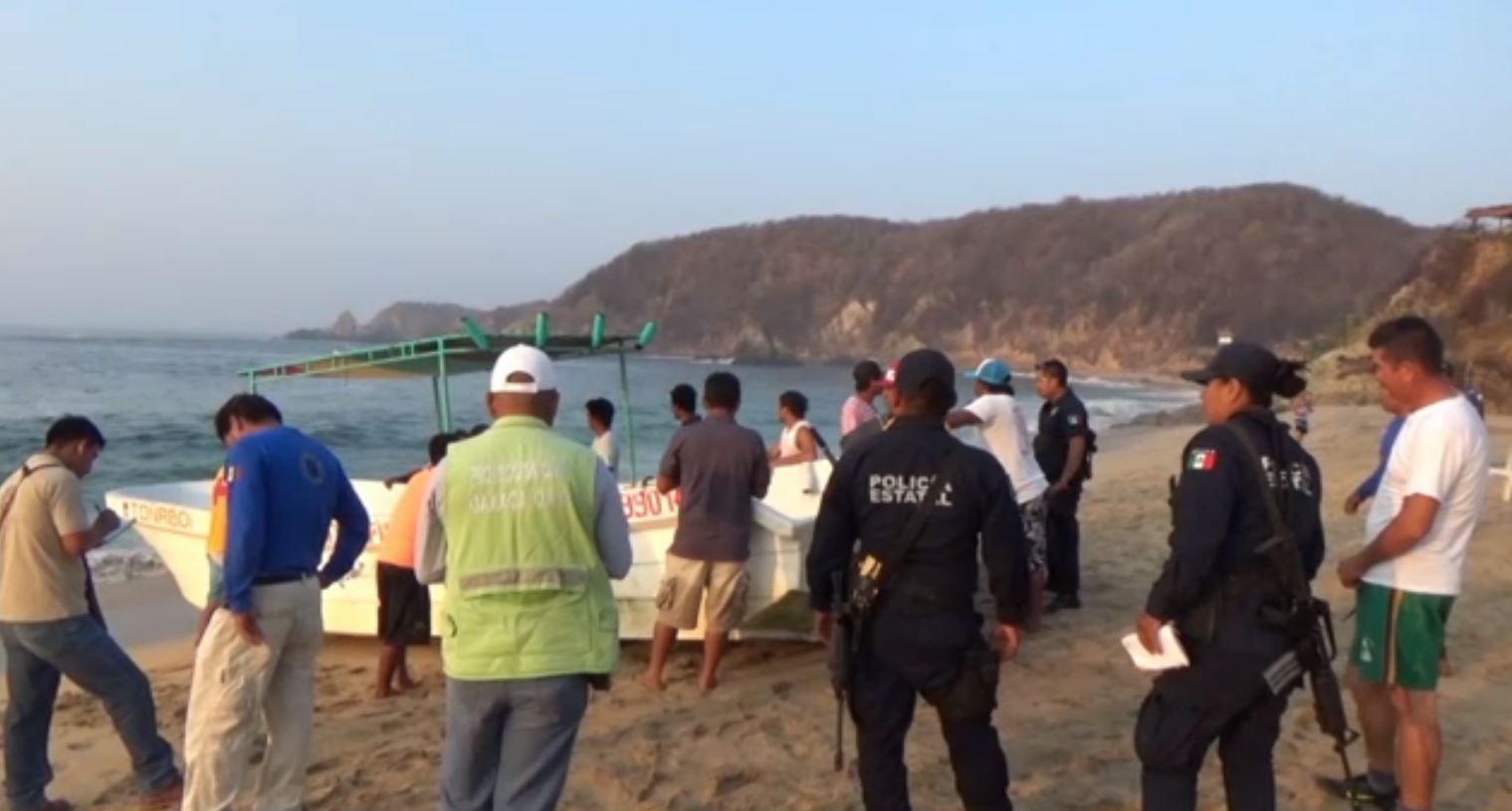 Localizan con vida a tres pescadores en Oaxaca
